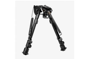 TRINITY FORCE - Tactical Bipod/Adjustable Height/Smooth Legs/Weaver and Barrel Adapter Incl.