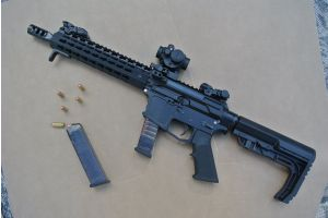 T 73 - MOD. TAC 9 - 10.5in - SIDE CHARGING HANDLE