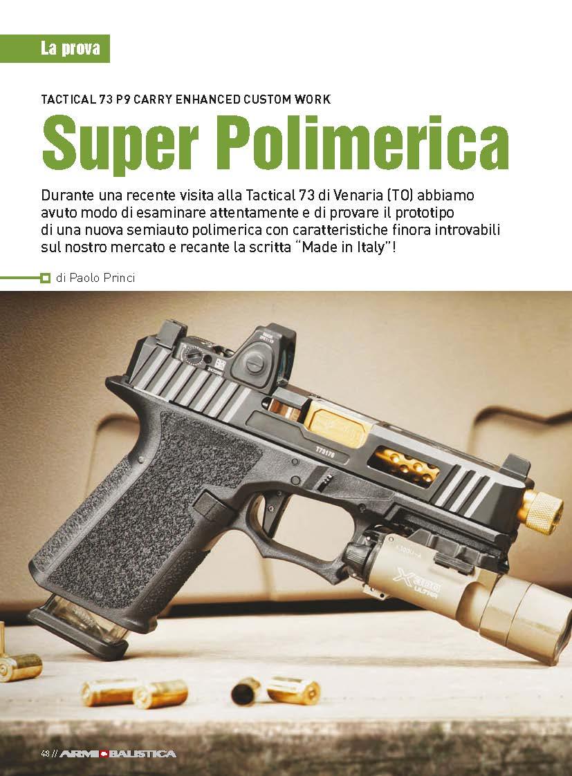 T73-MOD P9 Compact Pistols on Armi & Balistica