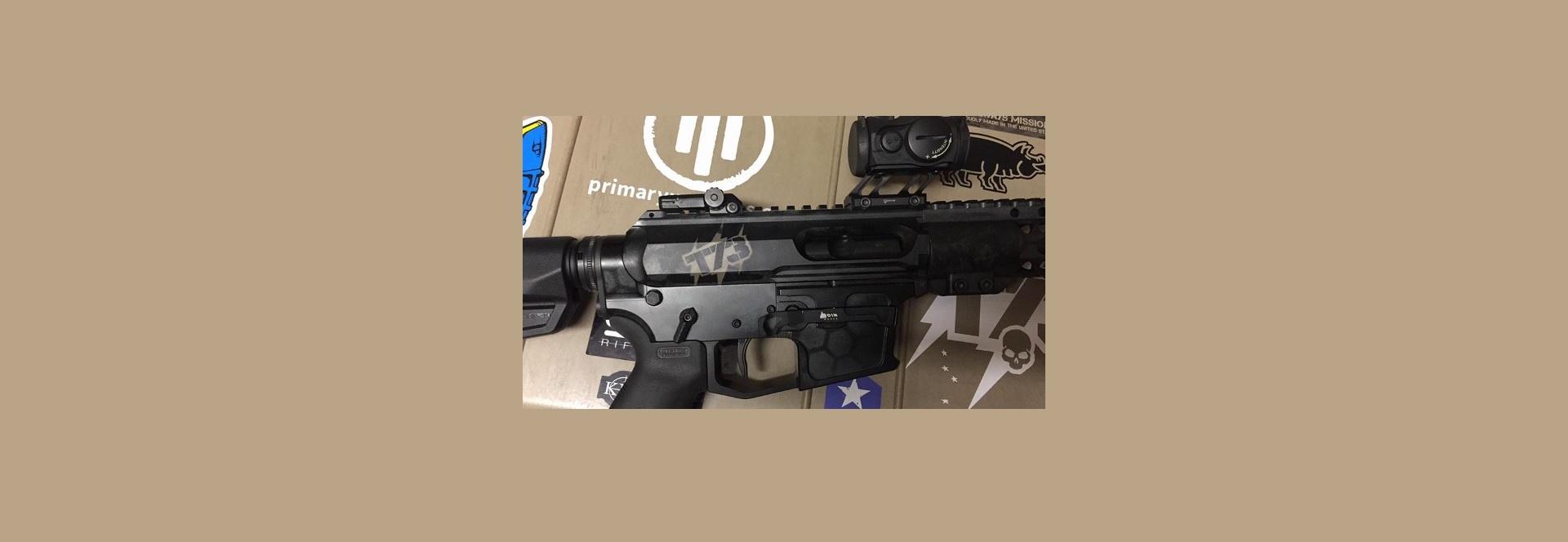 T73 Tac 9-Pistol